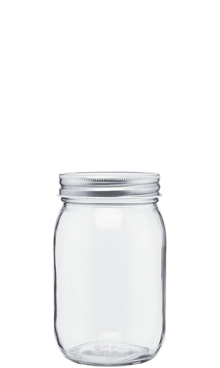 "Accessory: Pack of 2 Spare lids for ""271"" glass mason"