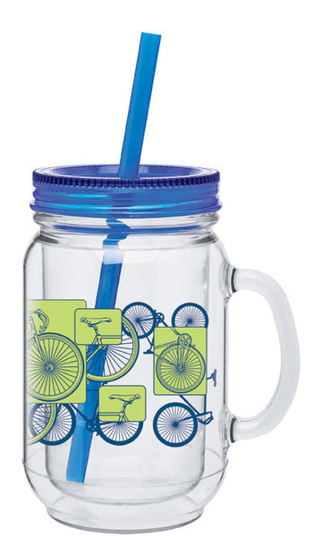 Bike Grid 18oz