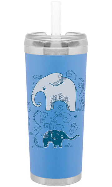Lovely Elephants 24oz