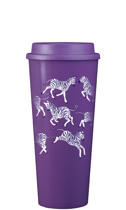 Leaping Zebras 20oz *