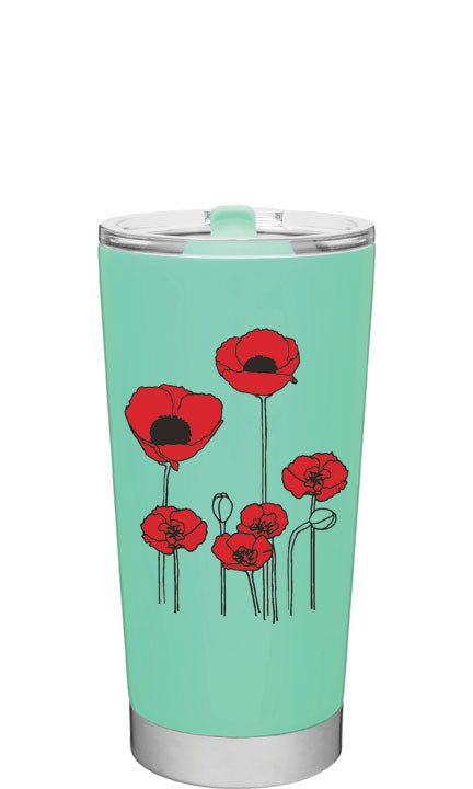 Poppies 20oz - oneVessel