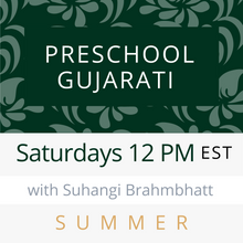 Load image into Gallery viewer, Live Gujarati Classes (Late Fall 2020)--(Level 1) Saturdays 12pm EST--Krupa Ruparel Teacher