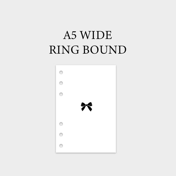A5 Wide Ring Bound