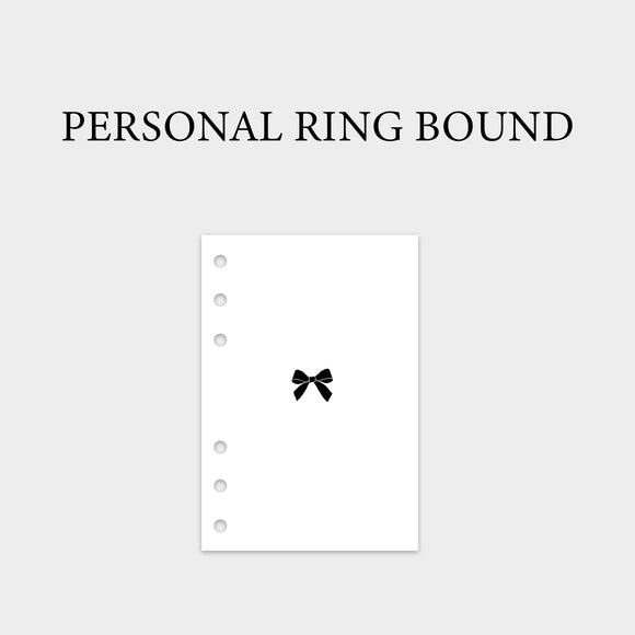 Personal Ring Bound