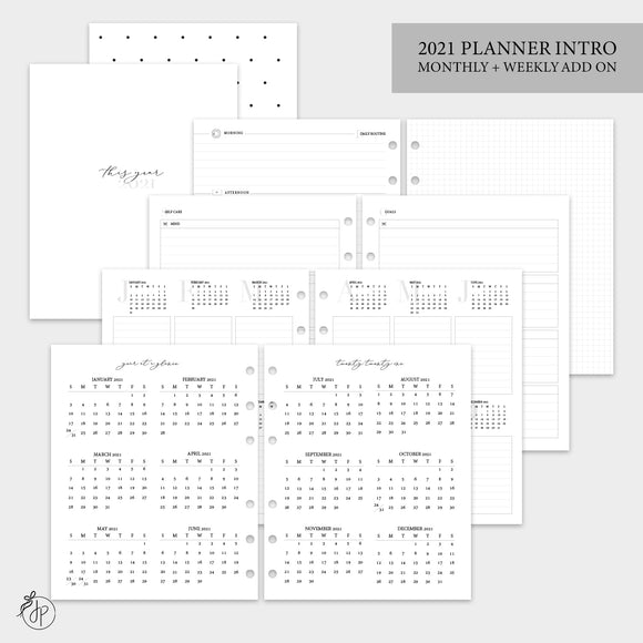 2021 Planner Intro - A5 Wide Rings