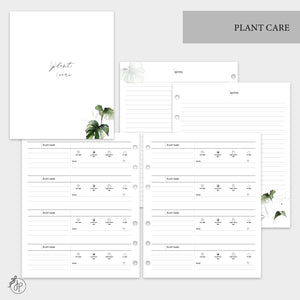 Plant Care - A5 Wide Rings