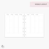 May Monthly + Weekly - A5 Wide Rings