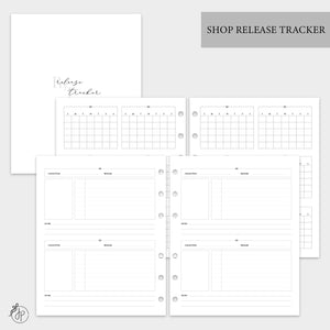 Shop Release Tracker - A5 Wide Rings