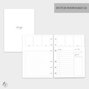 Dutch Door Daily 2.0 - A5 Rings
