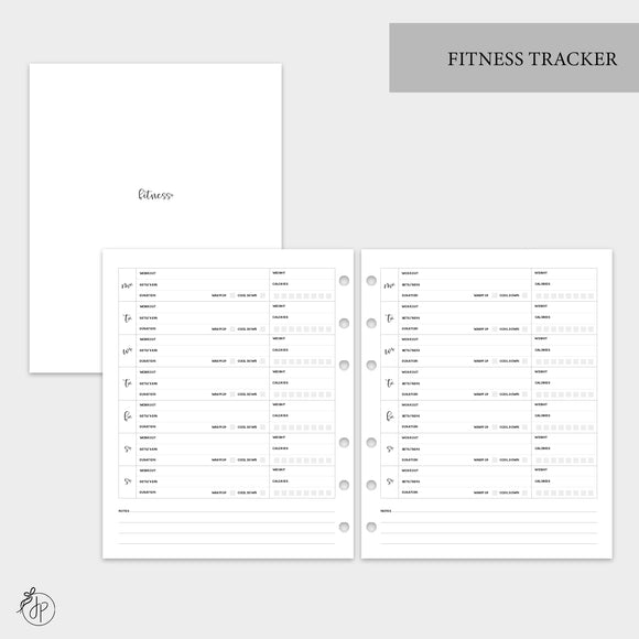 Fitness Tracker - A5 Wide Rings