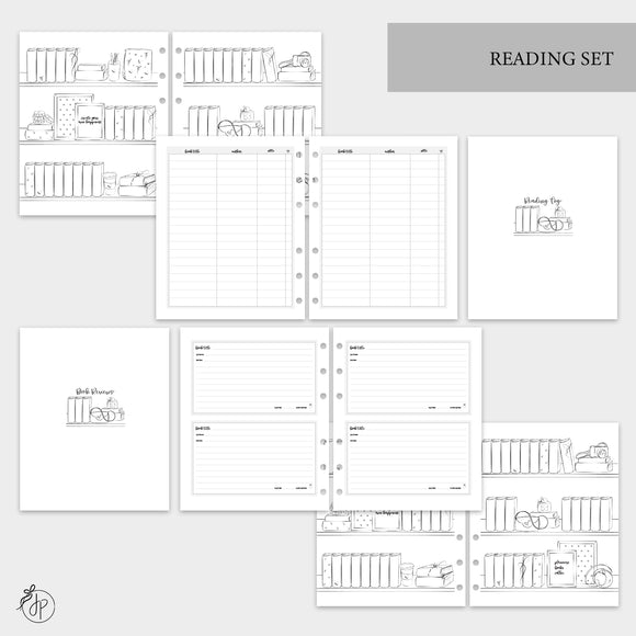 Reading Set - A5 Wide Rings