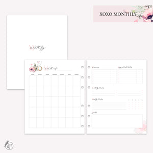 XOXO Monthly - A5 Wide Rings