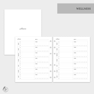 Wellness - A5 Wide Rings
