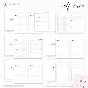 Self Care - A5 Rings