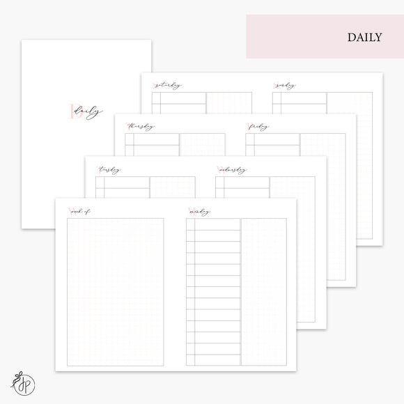 Daily Pink - A6 TN