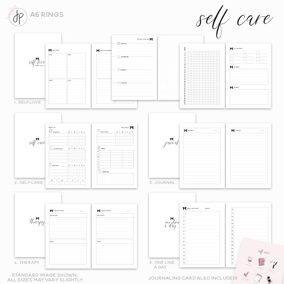Self Care - A6 Rings