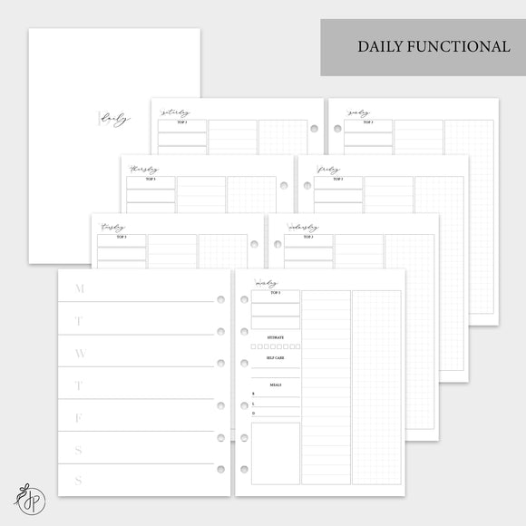 Daily Functional - B6 Rings