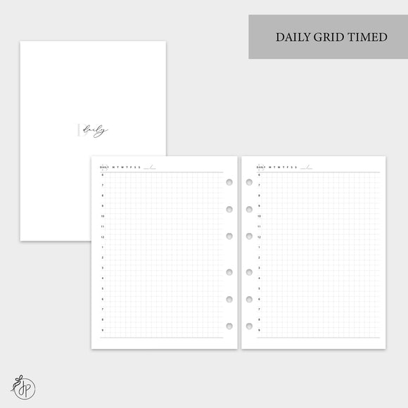 Daily Grid Timed - B6 Rings