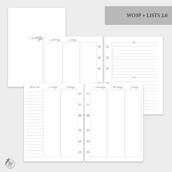 Wo3P + Lists 2.0 - B6 Rings
