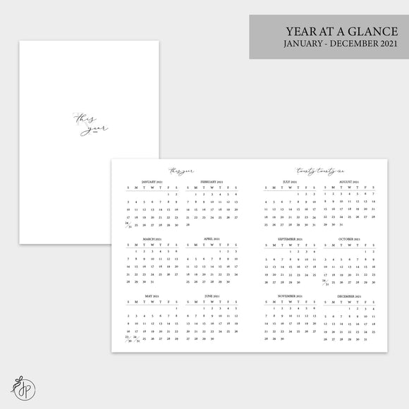 Year at a Glance 2021 - B6 TN