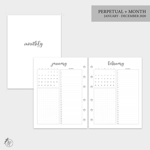 Perpetual + Month 2020 - B6 Rings