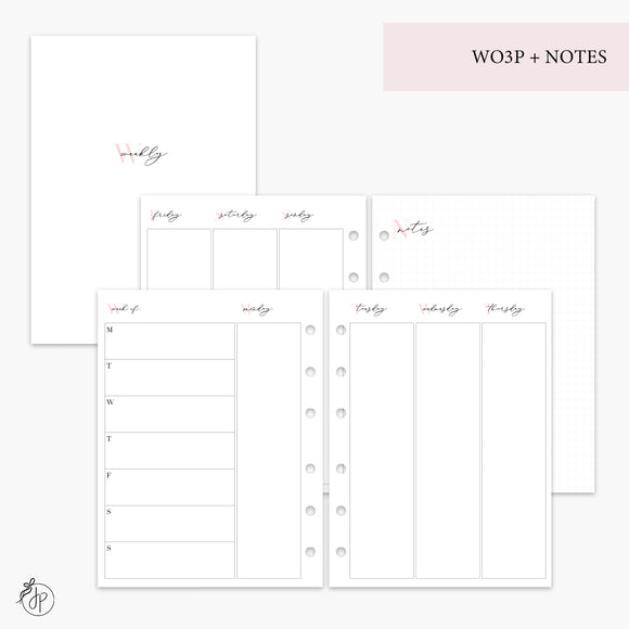 WO3P + Notes Pink - B6 TN