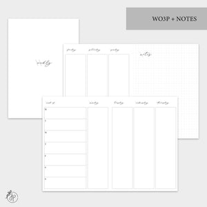 WO3P + Notes Grey - B6 TN