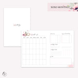 XOXO Monthly - B6 TN