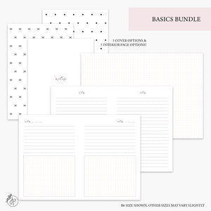 Basics Bundle Pink - A5 Wide Rings