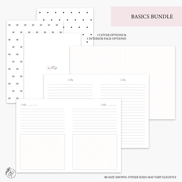 Basics Bundle Pink - A6 Rings