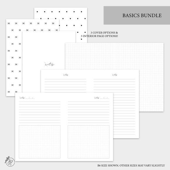 Basics Bundle - A5 Wide Rings