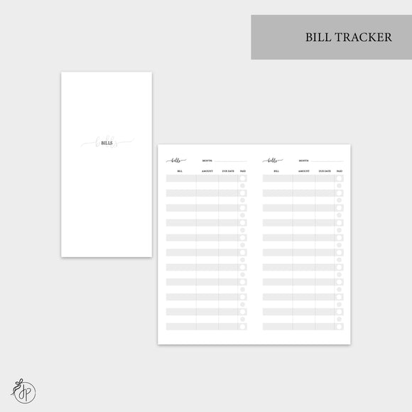 Bill Tracker - Hobo TN