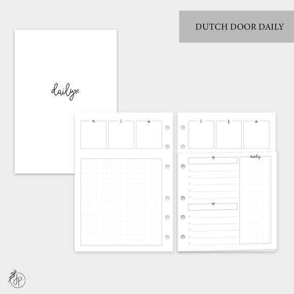 Dutch Door Daily - Personal Wide Rings