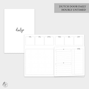 Dutch Door Daily Untimed - B6 TN