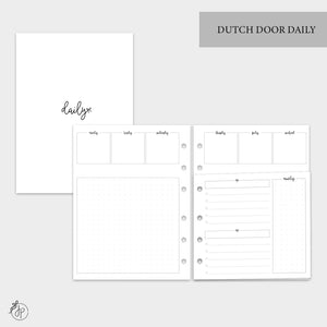 Dutch Door Daily - B6 Rings