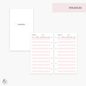 Finances Pink - Personal Rings
