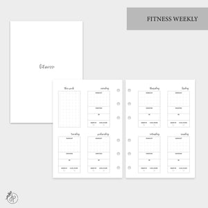 Fitness Weekly - Personal Wide Rings
