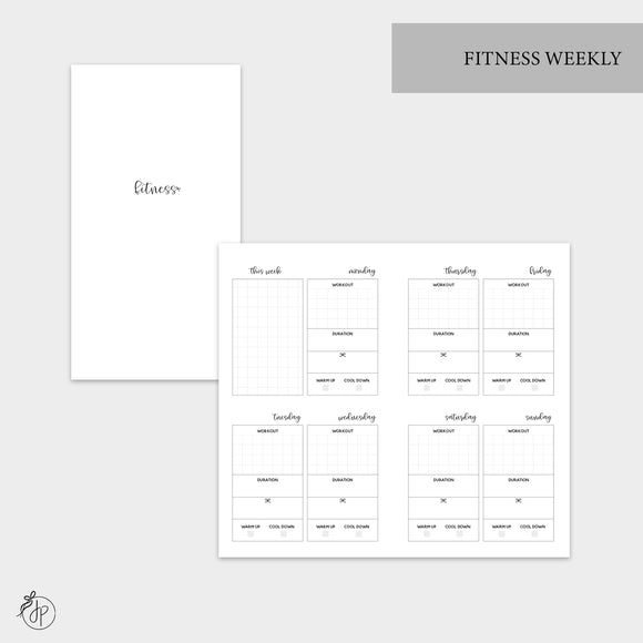 Fitness Weekly - Personal TN