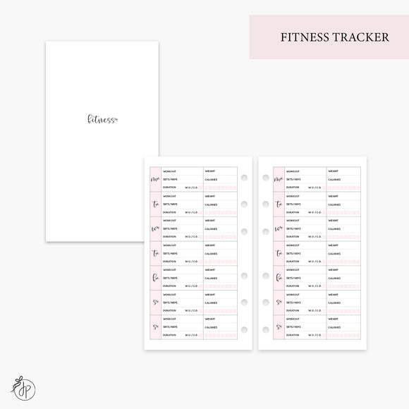 Fitness Tracker Pink - Personal Rings