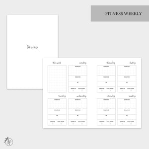 Fitness Weekly - A6 TN