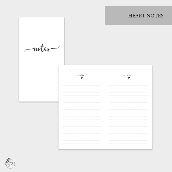 Heart Notes - Personal TN