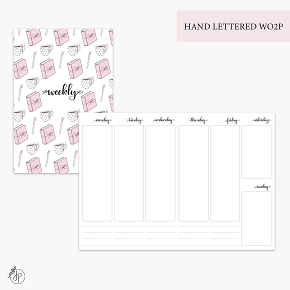Hand Lettered WO2P - B6 TN