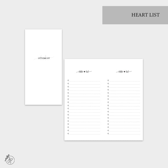 Heart List - Hobo TN