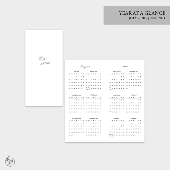 Year at a Glance 20/21 - Hobo TN
