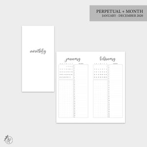 Perpetual + Month 2020 - Hobo TN