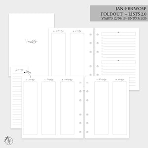 Jan-Feb Wo3P Foldout + Lists 2.0 - Personal Wide Rings