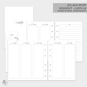 Jul-Aug Wo3P Foldout + Lists 2.0 - A6 Rings