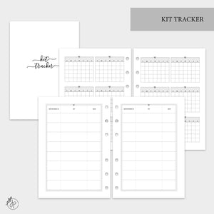 Kit Tracker - A5 Rings
