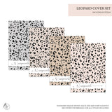 Leopard Covers - A5 Rings