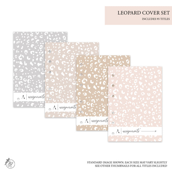 Leopard Covers Light - Personal Rings